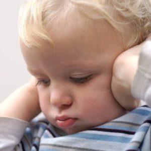 Симптомы отита у детей до года