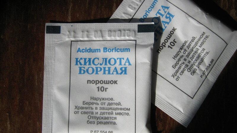 Можно ли лечить отит борной кислотой