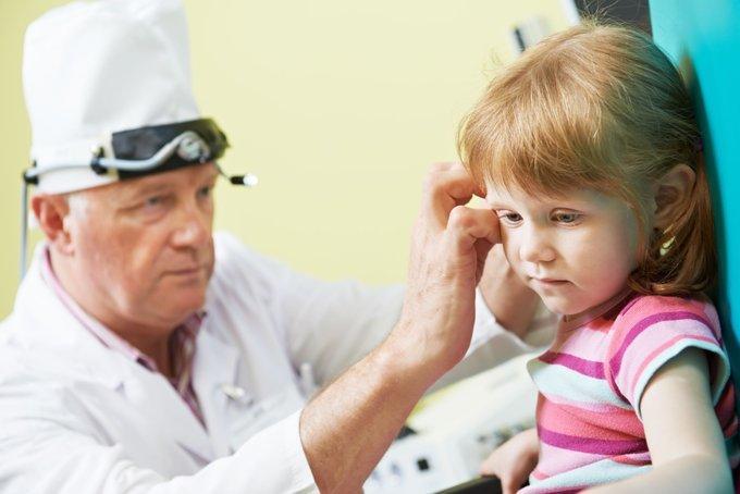 Лечение экссудативного отита у детей