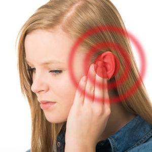 как делать массаж уха при отите