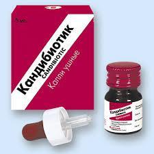 ушные капли с антибиотиком для детей