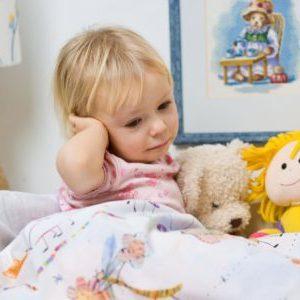 острый гнойный отит среднего уха у детей