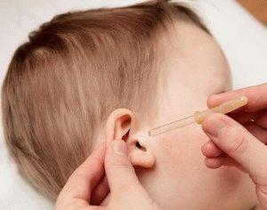 фурацилин в уши детям