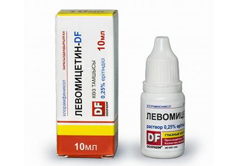 Левомицетин при боли в ухе