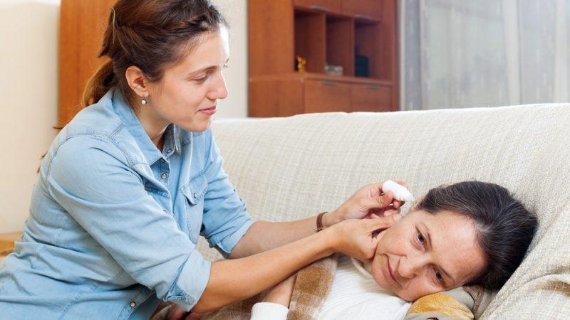 ушные капли при гнойном отите у взрослых