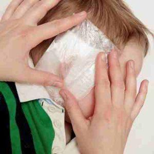 -как сделать согревающий компресс на ухо
