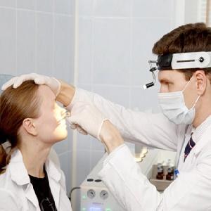 -резекция перегородки носа