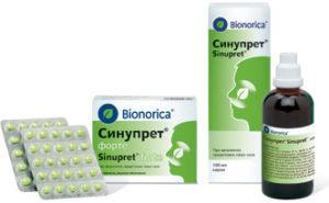 противопоказания «Синупрет» при беременности