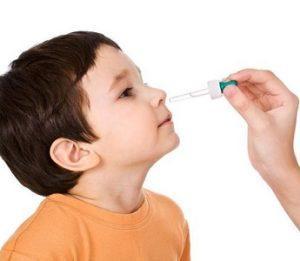 как капать диоксидин в нос ребенку