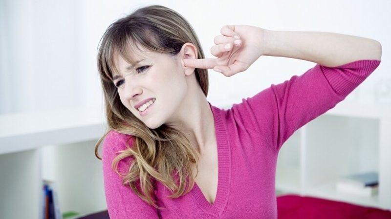воспаление наружного слухового прохода