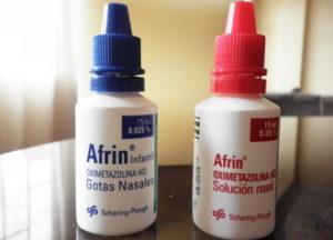 Спрей африн чистое море при беременности