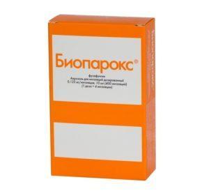 Как принимать Биопарокс при гайморите?