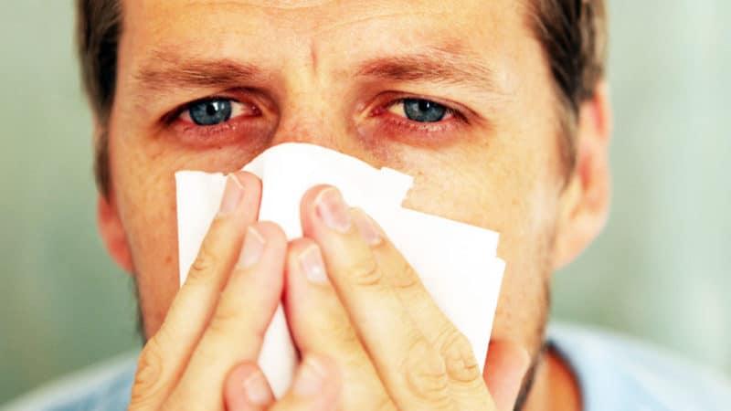 аллергический ринит лечение народными средствами