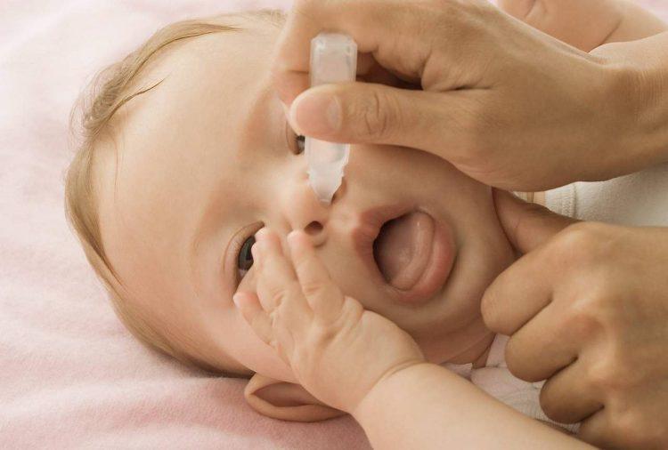 антибактериальные капли в нос для детей