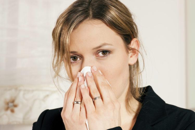 Как снять отек носа при беременности