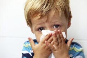 могут ли быть зеленые сопли при аллергии