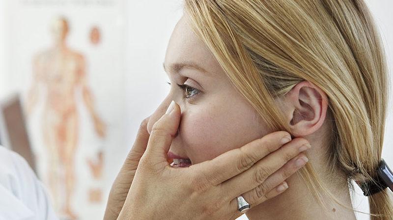 ушиб мягких тканей носа