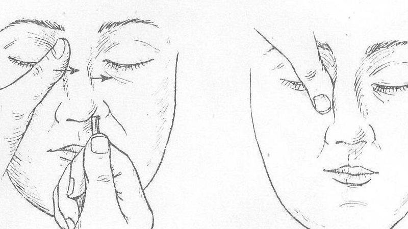 что делать при ушибе носа