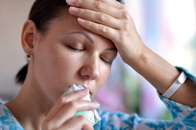 что делать если заложен нос и болит голова