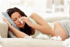 Ринит у беременной: симптомы и лечение, как отличить от обычного