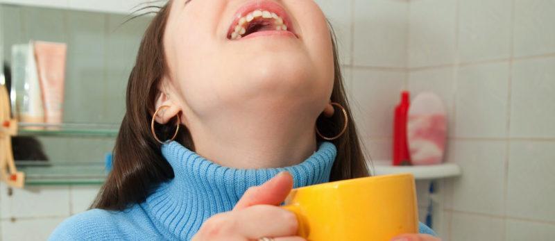 лечение соплей по задней стенке у ребенка