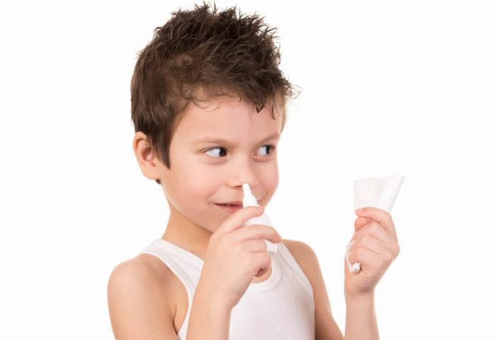 масло туи при насморке у детей