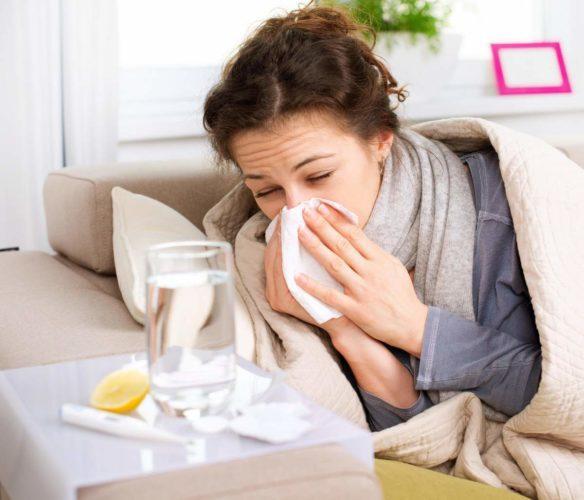 постоянное чихание и заложенность носа