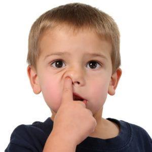 причины крови из носа у детей