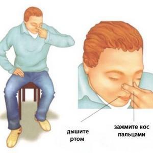 причина крови из носа у взрослых