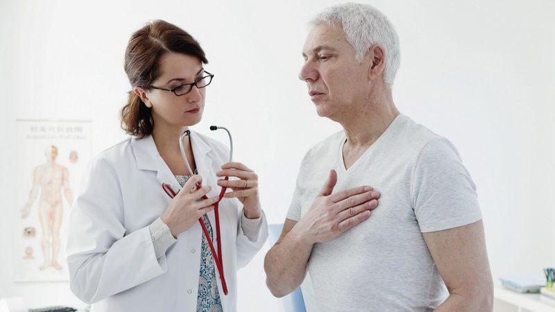 кашель при сердечной недостаточности у пожилого человека