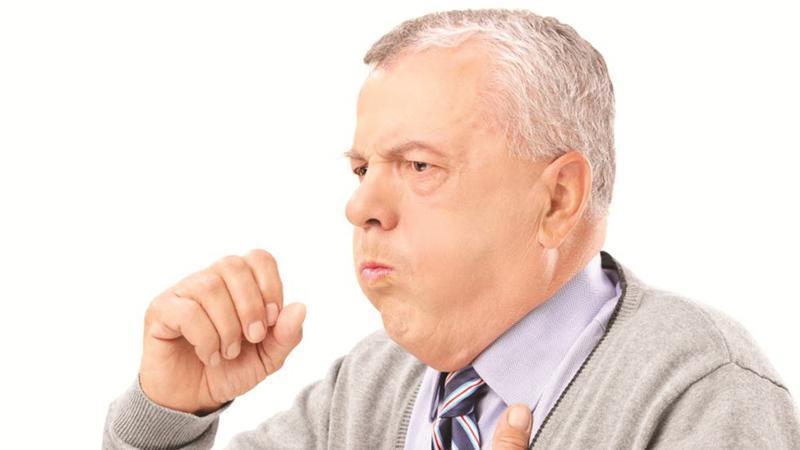 Кашель при сердечной недостаточности у пожилого