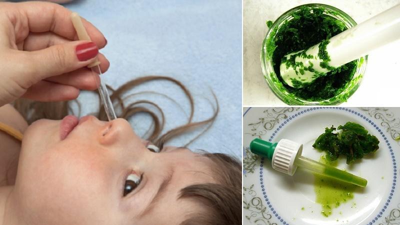 вирусный насморк у детей