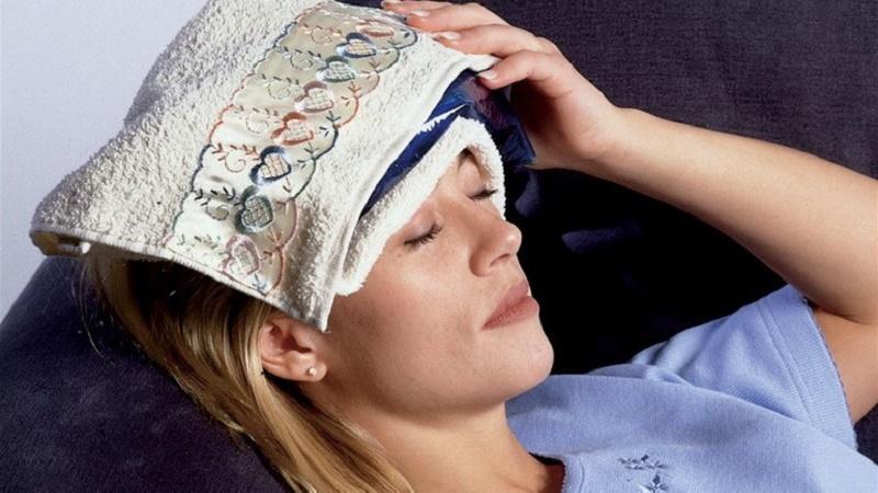 что делать когда болит голова от насморка
