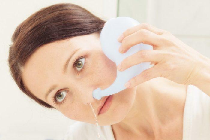 избавиться от заложенности носа при беременности
