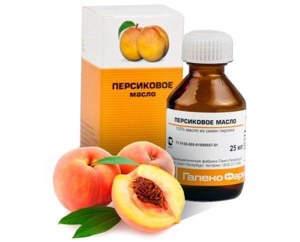 как капать персиковое масло в нос