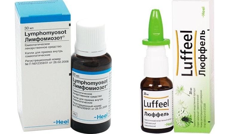 гомеопатические капли для носа взрослым