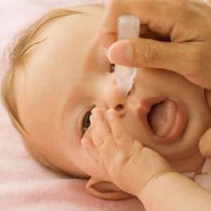 какие капли в нос можно грудничкам