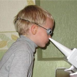 кварцевание горла и носа