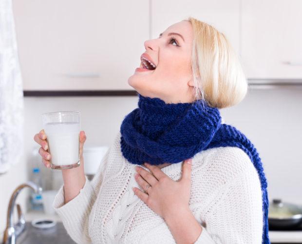 Как при ангине полоскать горло прополисом настойка