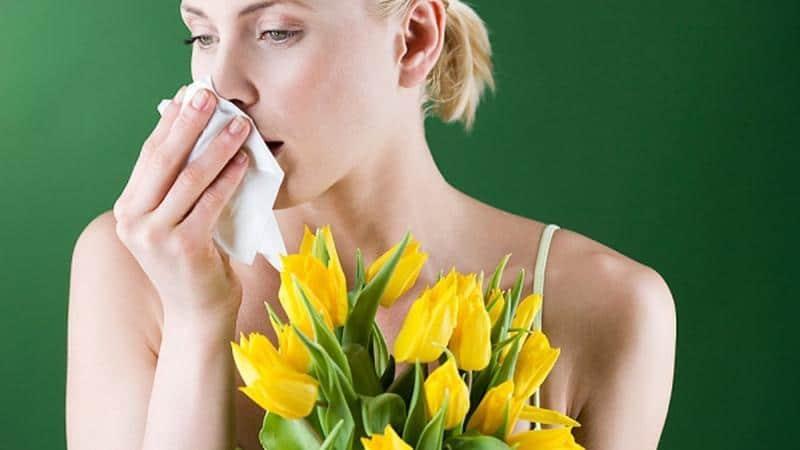 вызвать насморк и чихание