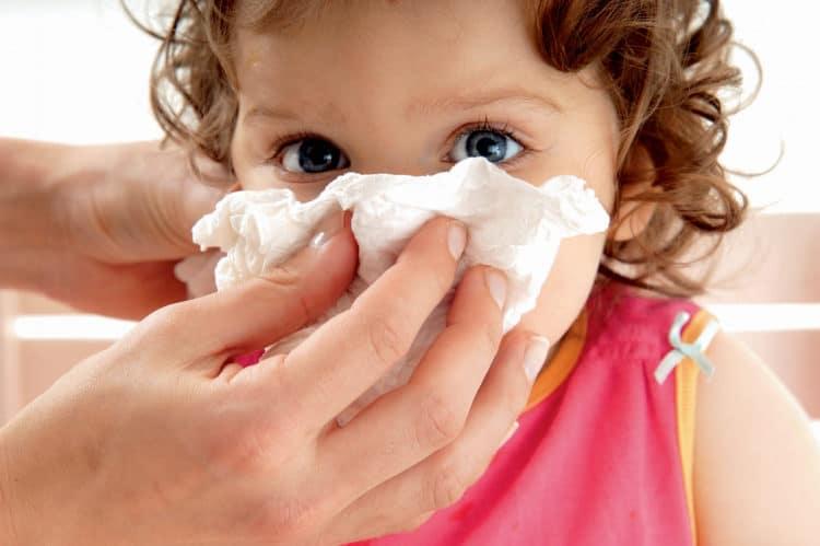 чем подсушить сопли у ребенка