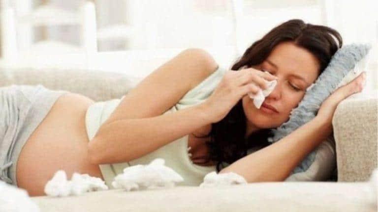 Почему тошнит на последних неделях беременности
