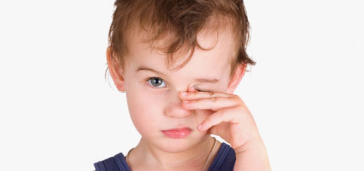 насморк и конъюнктивит у ребенка