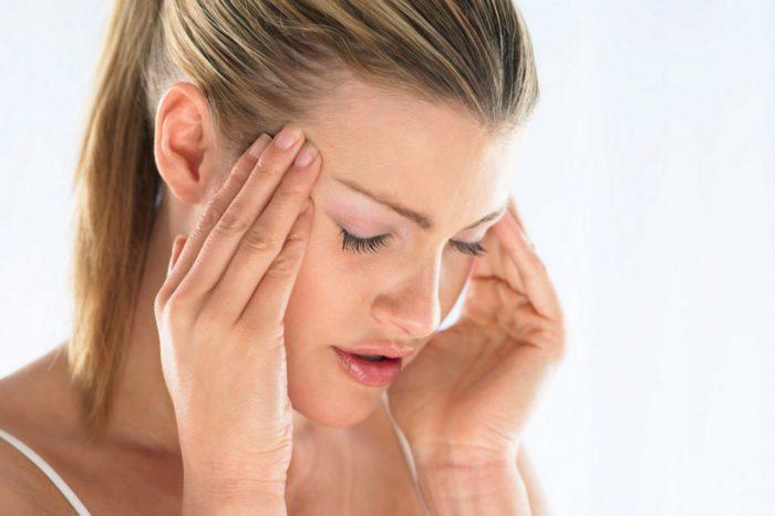 После гайморита болит лобная часть головы