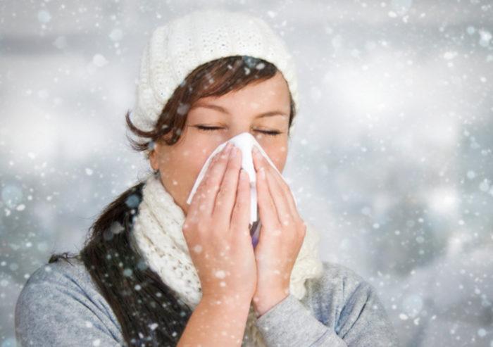 ринит аллергический на холод