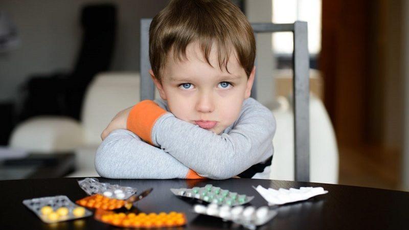 препараты при сухом кашле у детей