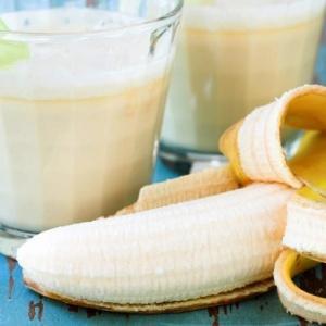 банан какао молоко мед от кашля