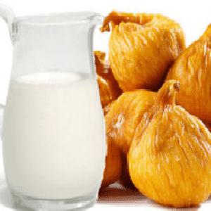 рецепт инжира с молоком от кашля