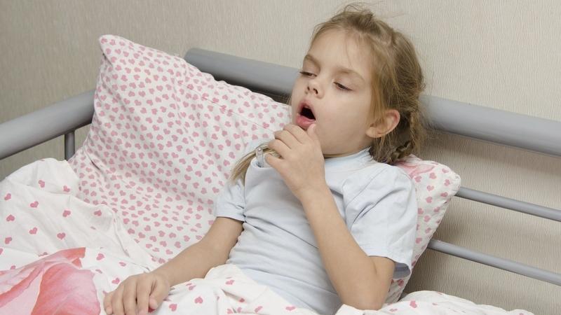 причина длительного кашля у детей