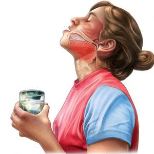 Чем лучше полоскать горло при гнойной ангине?